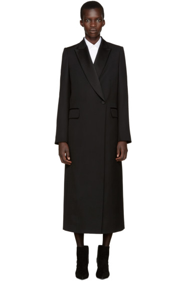 Pallas - Black Grain De Poudre Shadow Coat