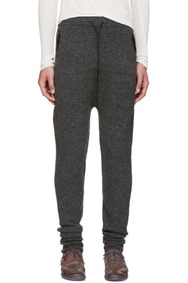 Isabel Benenato - Grey Knit Lounge Pants