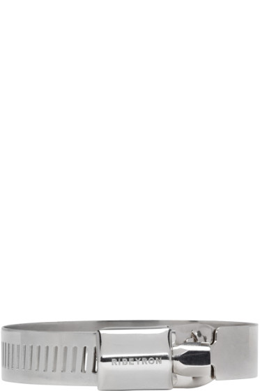 Ribeyron - Silver Large Screw Bracelet