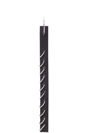 Ribeyron - Black Long Pierced Earring