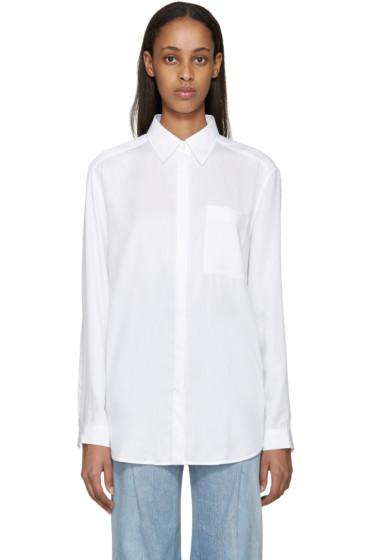 Acne Studios - White Denim Addle Shirt