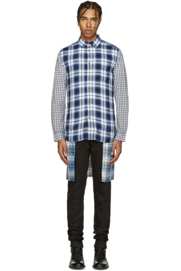 Diesel - Blue Plaid S-Hum Shirt