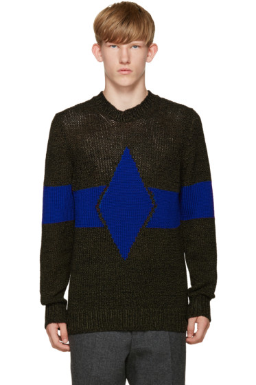 Diesel - Grey & Blue K-Ingenium Sweater