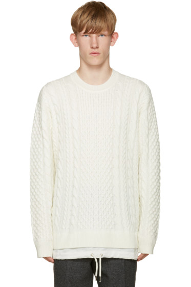 Diesel - Off-White K-Pigris Sweater