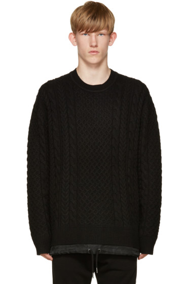 Diesel - Black K-Pigris Sweater