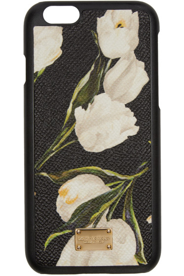 Dolce & Gabbana - Black Tulip iPhone 6 Case