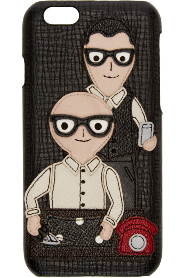 Dolce & Gabbana - Black Designers iPhone 6 Case