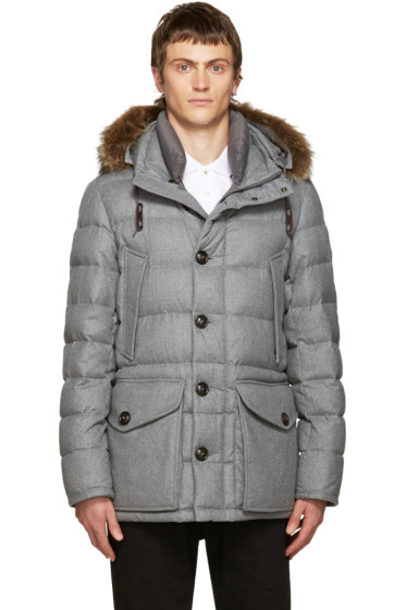 Moncler - Grey Down Rethel Jacket