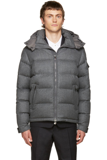 Moncler - Grey Down Mongenevre Jacket