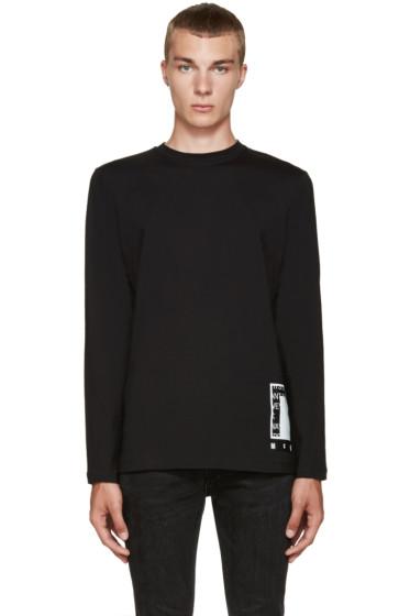 McQ Alexander Mcqueen - Black Logo Graphic T-Shirt