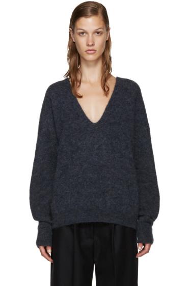Acne Studios - Blue Mohair Dakara Sweater