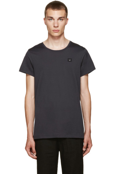 Acne Studios - Blue Standard Face T-Shirt