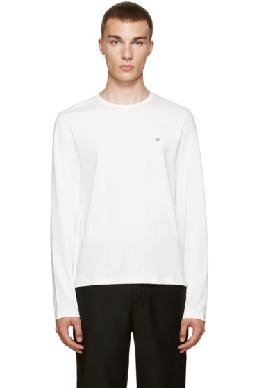 Acne Studios - White Standard Face T-Shirt