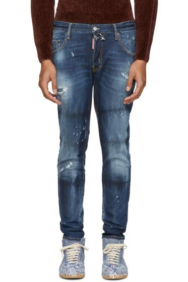Dsquared2 - Indigo Skater Jeans