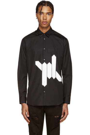 Dsquared2 - Black Babewire Relax Dan Shirt