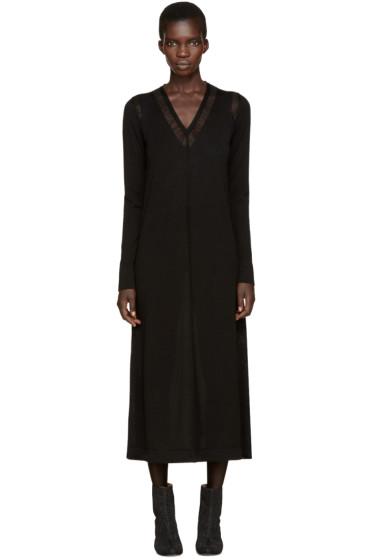 Maison Margiela - Black Jersey Long Dress