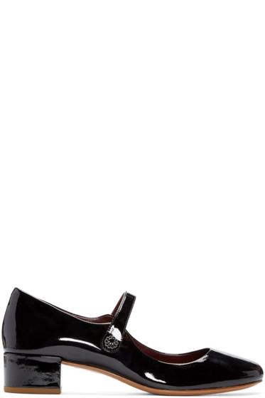 Marc Jacobs - Black Patent Leather Lexi Pumps