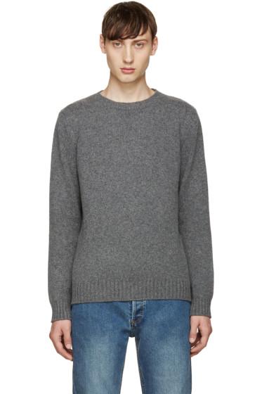 A.P.C. - Grey Shortbread Sweater