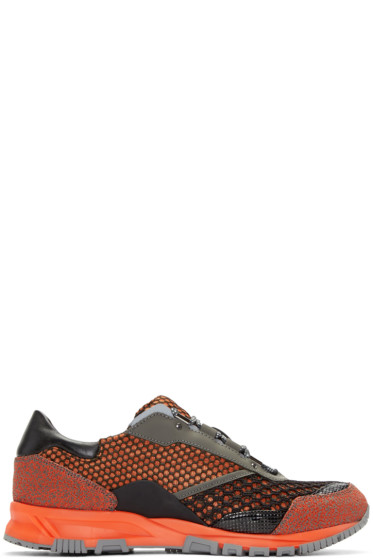 Lanvin - Orange Mix Sneakers
