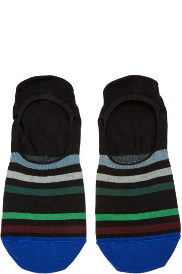 Paul Smith - Black Stripe No-Show Socks