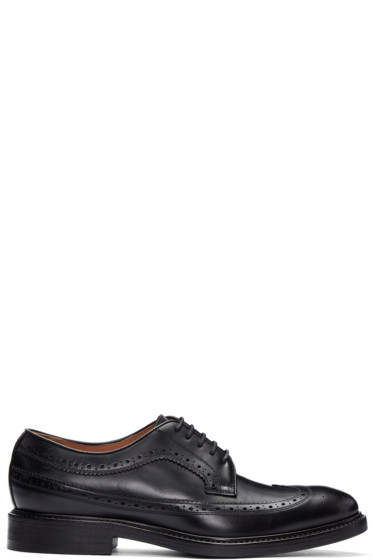 Paul Smith - Black Leather Lucian Brogues