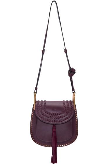 Chloé - Purple Small Hudson Bag
