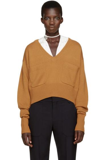 Chloé - Orange Cashmere Sweater