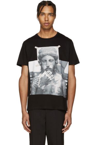 Neil Barrett - Black Tattooed Statue T-Shirt