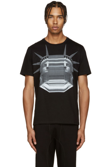 Neil Barrett - Black Liberty T-Shirt