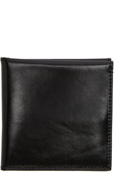 Ann Demeulemeester - Black Bifold Wallet