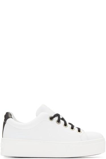 Kenzo - White Platform Sneakers