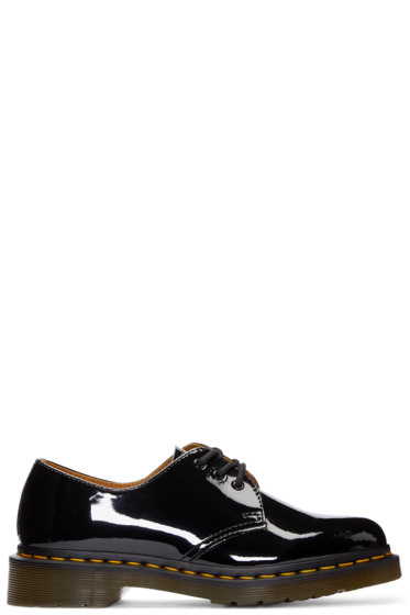 Dr. Martens - Black Patent Leather Three-Eye 1461 Derbys