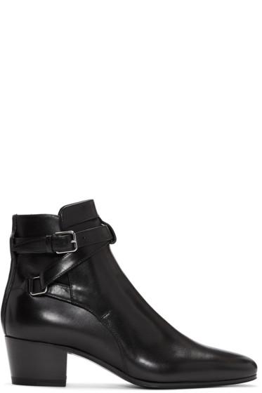 Saint Laurent - Black Blake Boots