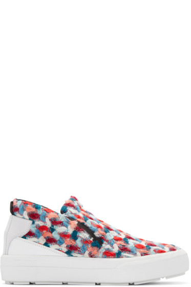 MSGM - Multicolor Chunky Tweed Sneakers