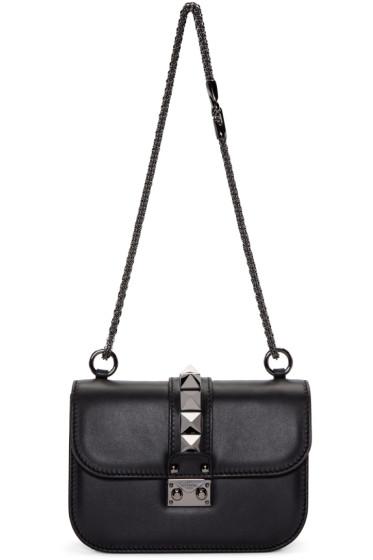 Valentino - Black Small Lock Bag