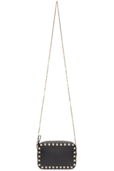 Valentino - Black Rockstud Camera Bag