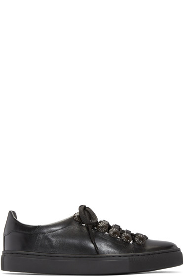 Toga Pulla - Black Open Lace Sneakers