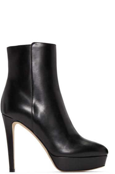Jimmy Choo - Black Maggie Boots