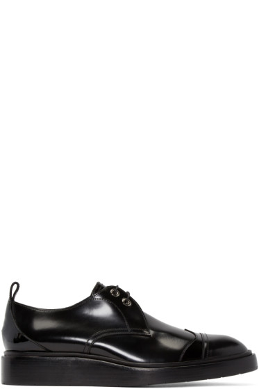 Jimmy Choo - Black Patent Leather Milton Oxfords