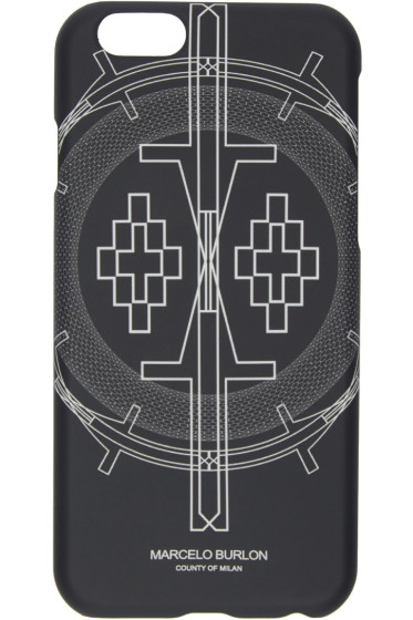 Marcelo Burlon County of Milan - Black Cerro Escorial iPhone 6 Case