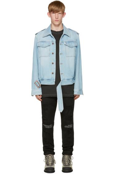 Off-White - Blue Denim Jacket