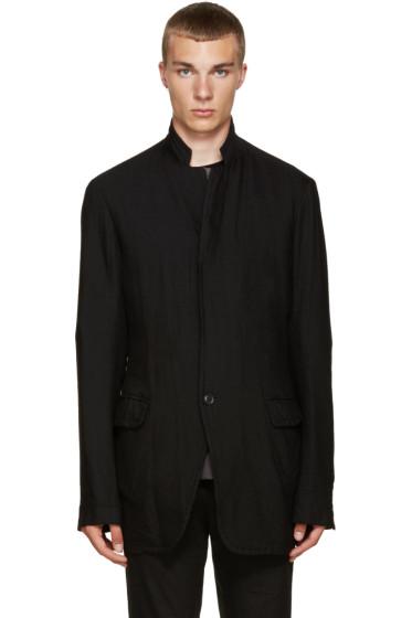 Nude:mm - Black Wool Blazer