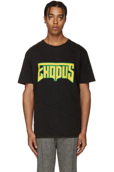 Palm Angels - Black & Yellow Exodus T-Shirt