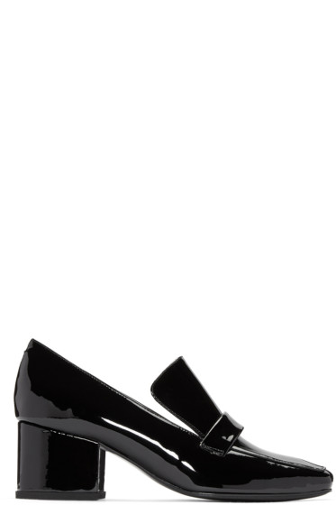 Dorateymur - Black Patent Leather Turbojet Heels