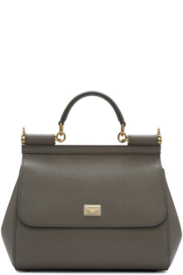 Dolce & Gabbana - Grey Medium Miss Sicily Bag