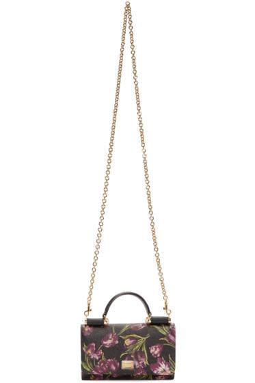 Dolce & Gabbana - Black Phone Shoulder Bag
