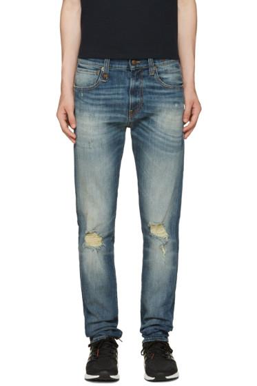 R13 - Blue Skate Jeans