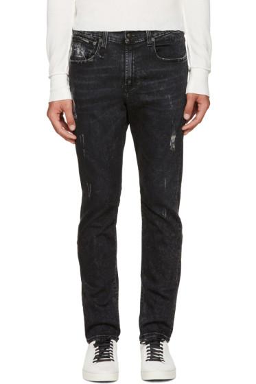 R13 - Black Skate Jeans