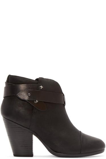 Rag & Bone - Black Leather Harrow Boot