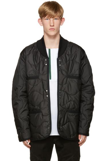 Public School - Black Quilted Raebur Jacket